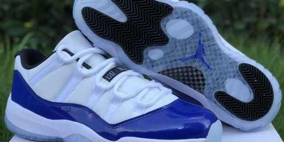 "The Air Jordan 11 Retro Low WMNS ""Concord"""