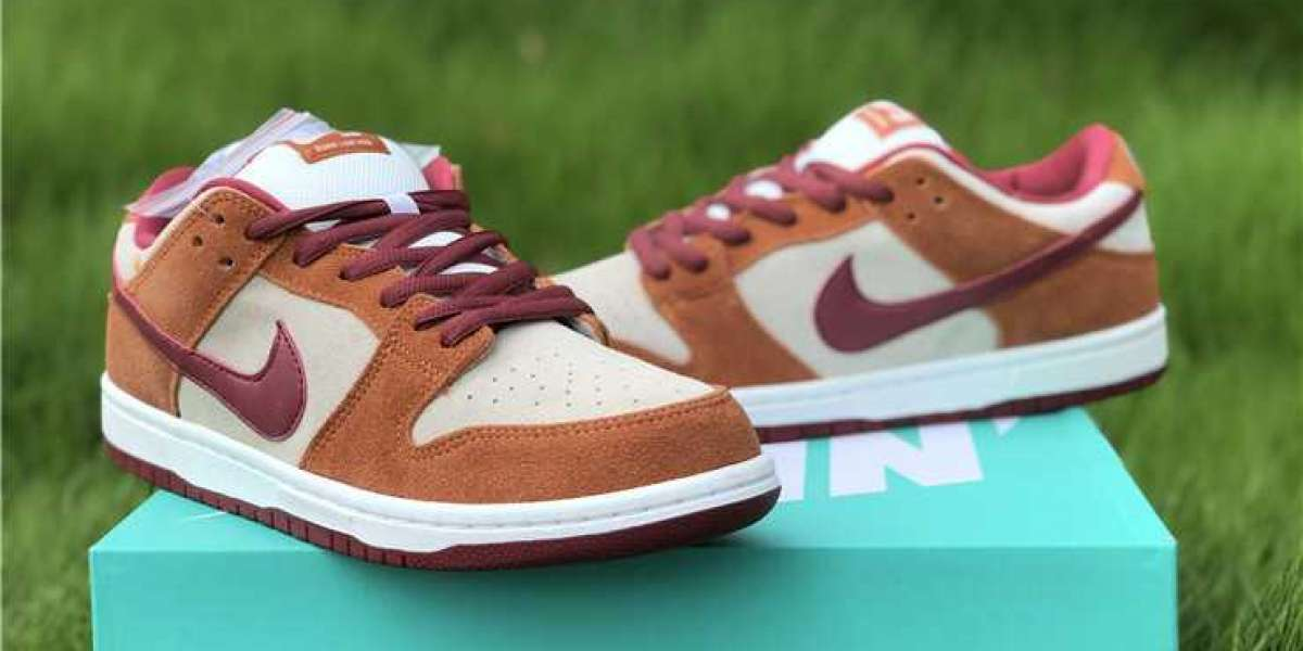 Latest Nike SB Dunk Low Pro Dark Russet Cedar BQ6817-202 Shoes