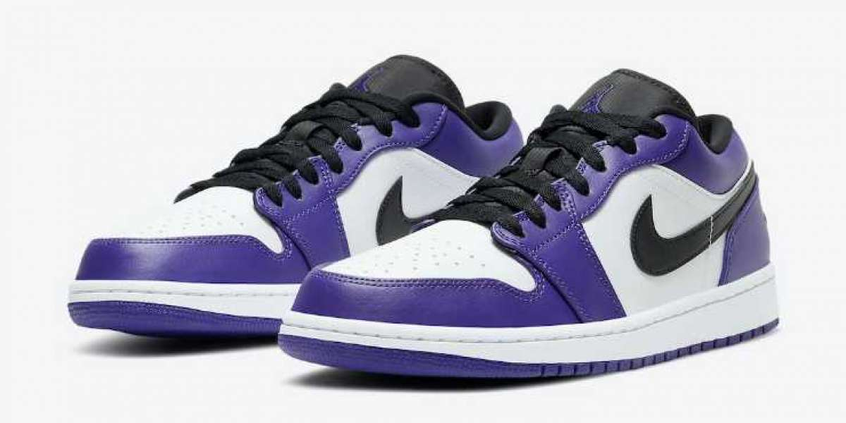 Special Offer Air Jordan 1 Low Court Purple Online Sale