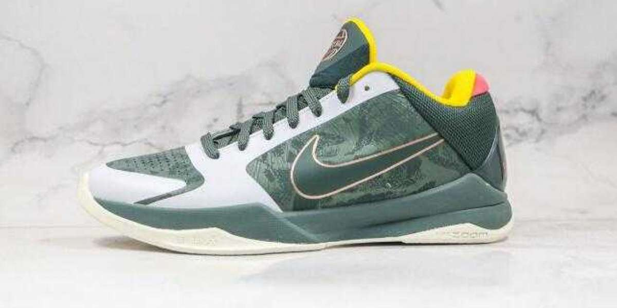 Latest Nike Zoom KOBE 5 Green Grey is Available Now