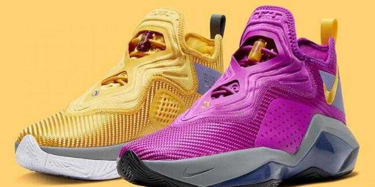 CK6047-500 Nike LeBron Soldier 14 Lakers Releasing Soon