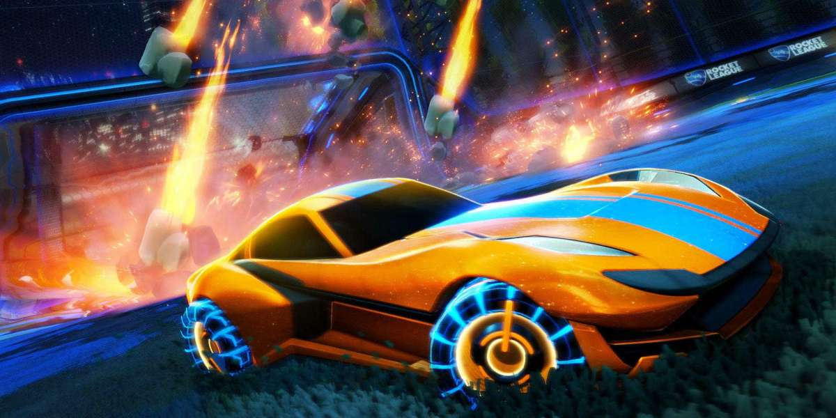 The controls and extraordinary sport mechanics as a Rocket League