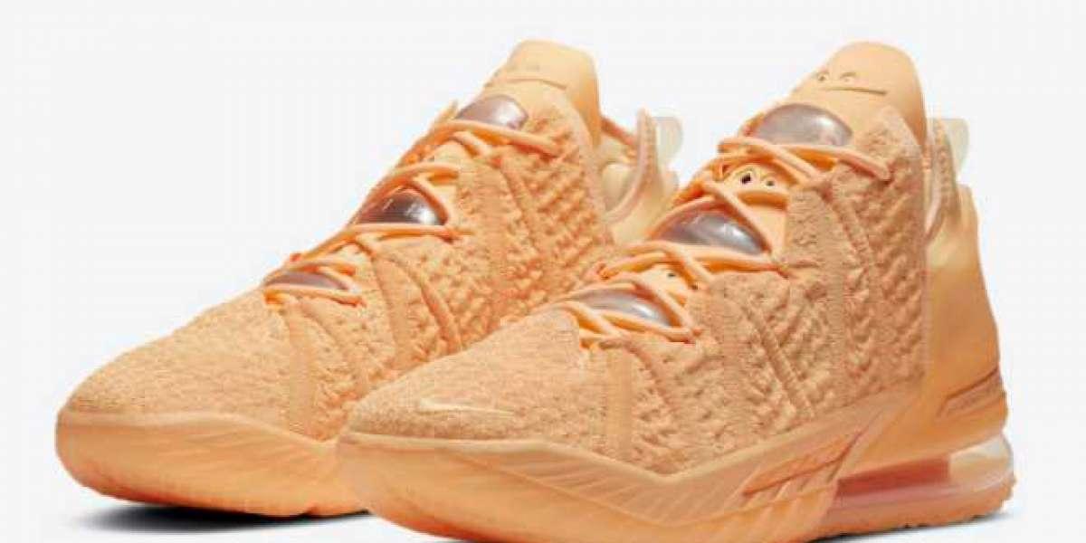 "Where To Buy Men's Nike LeBron 18 ""Melon Tint"" DB8148-801 Sport Shoes ?"