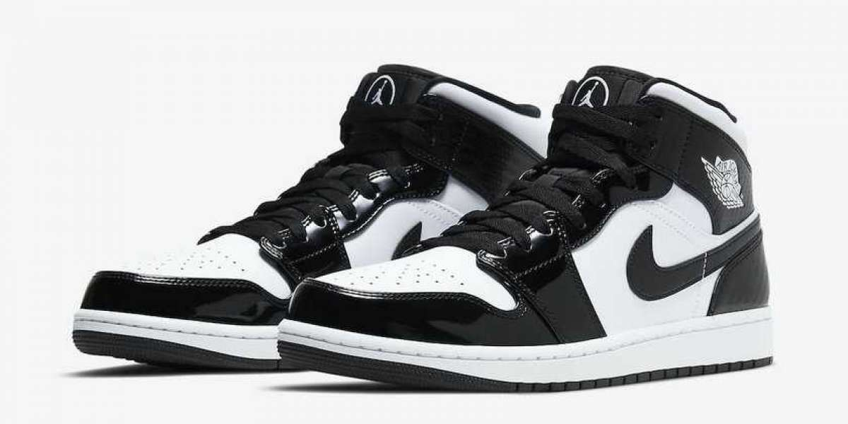 "DD1649-001 Air Jordan 1 Mid ""All-Star"" Released In February 2021"