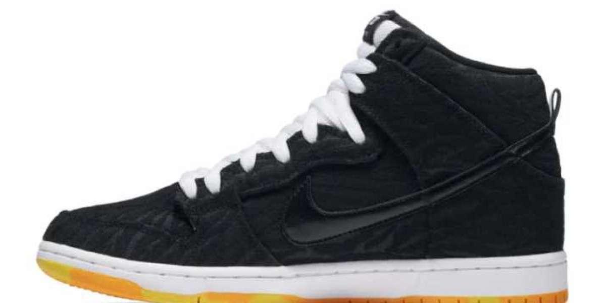 "Nike SB Dunk High Pro ""Skunk"" Sneakers For Men 305050-034"