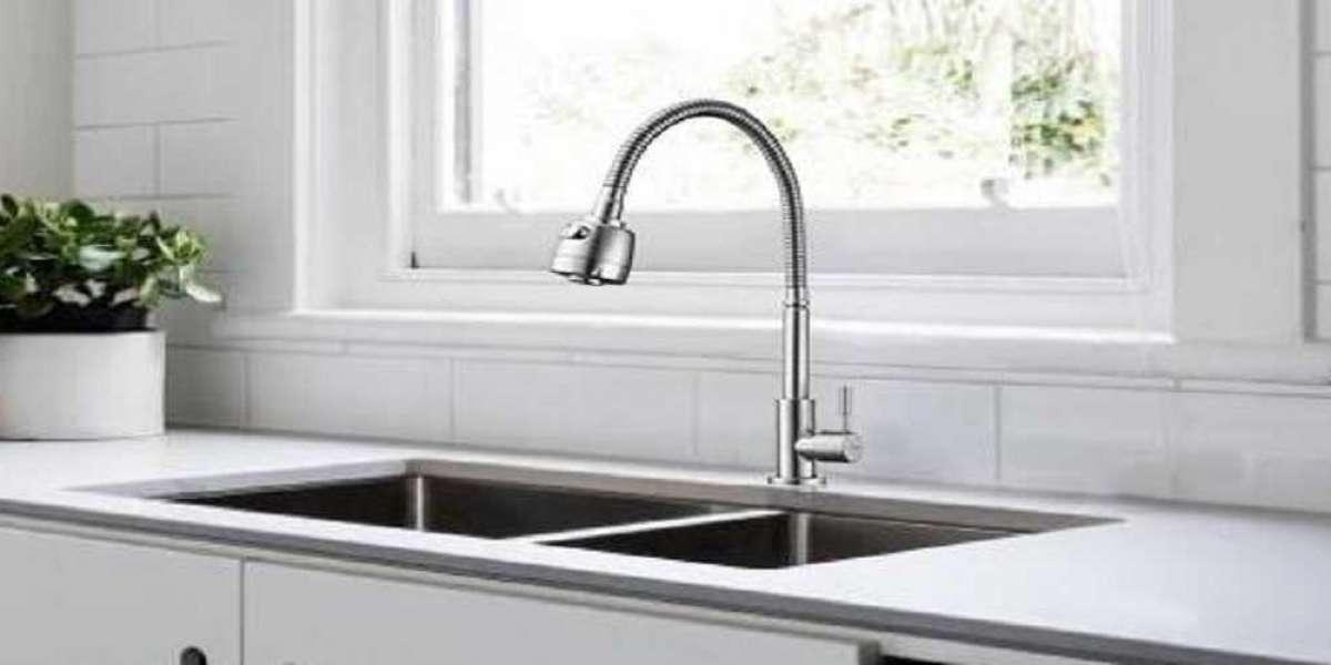 Instructions pour remplacer l'évier robinet de cuisine