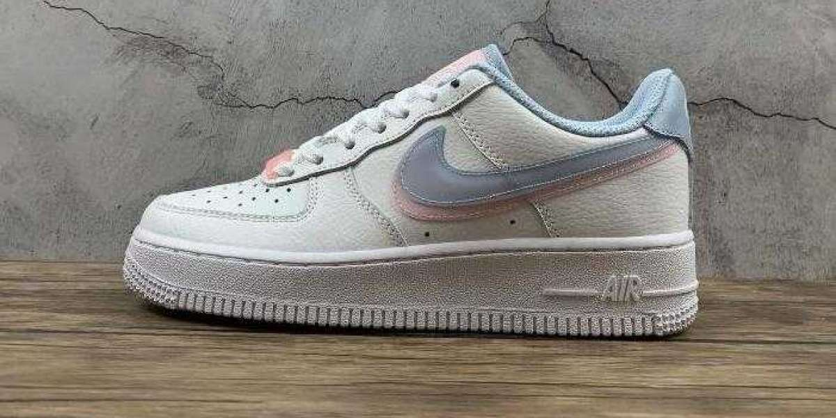 2021 Nike Air Force 1 Lv8 GS White LT Armory Blue Release Next Week