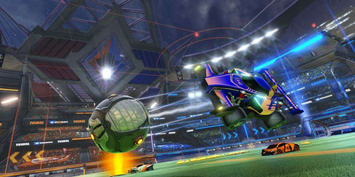 Rocket League used to drop locked loot bins containing a random object