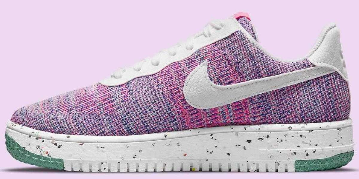 Nike Air Force 1 Crater Flyknit Pink Purple to Debut for Women