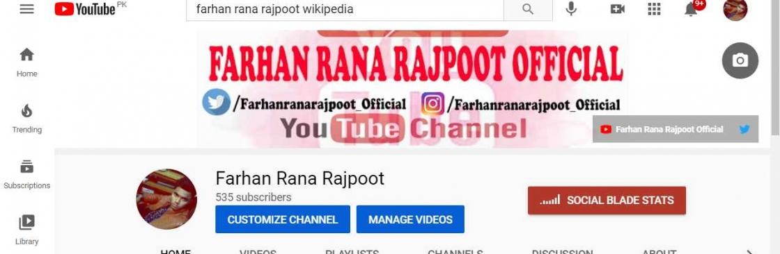Farhan Rana Rajpoot Cover Image