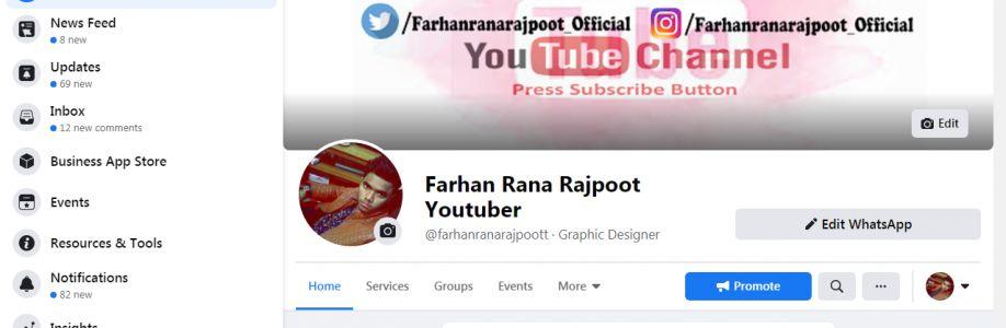 Farhan Rana Rajpoot Official Cover Image