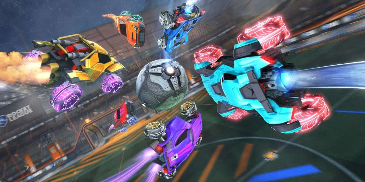 The Item Shop will include all styles of in-game gadgets for Rocket League