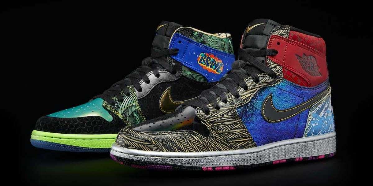 """Brand New Air Jordan 1 """"What The Doernbecher"""" Basketball Shoes"""