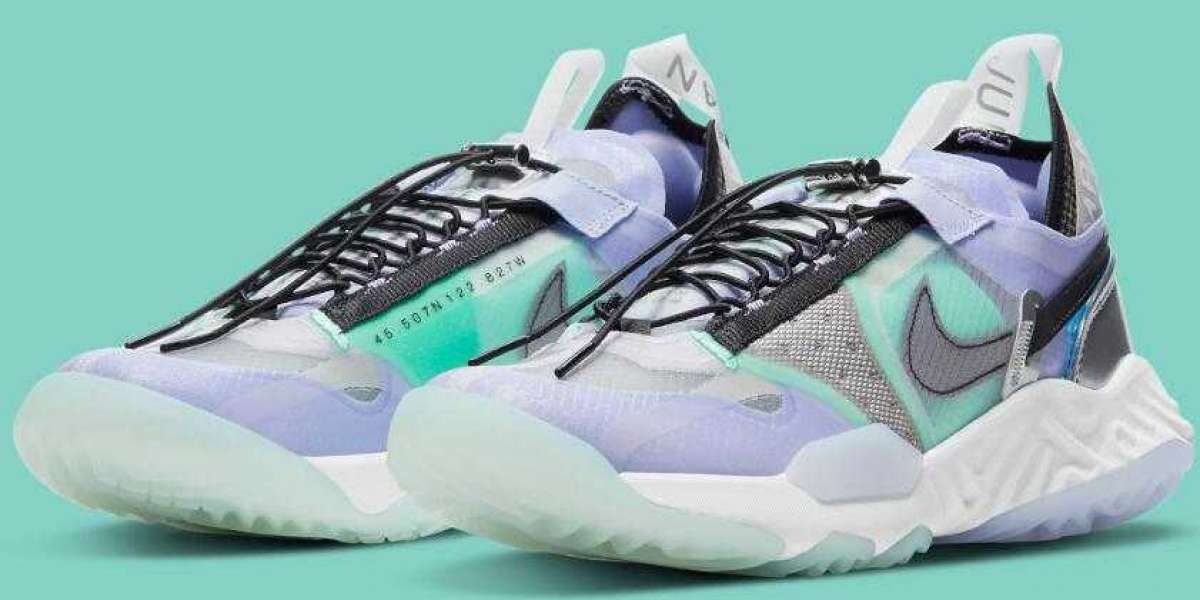 Jordan Delta Breathe Coming With Shimmering Purple And Brilliant Green