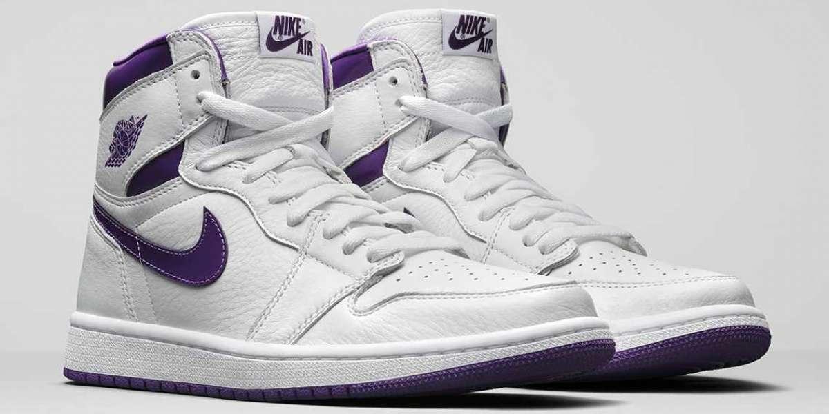 "Air Jordan 1 Retro High OG ""Court Purple"" pays tribute to the original ""metal"" in 1985"