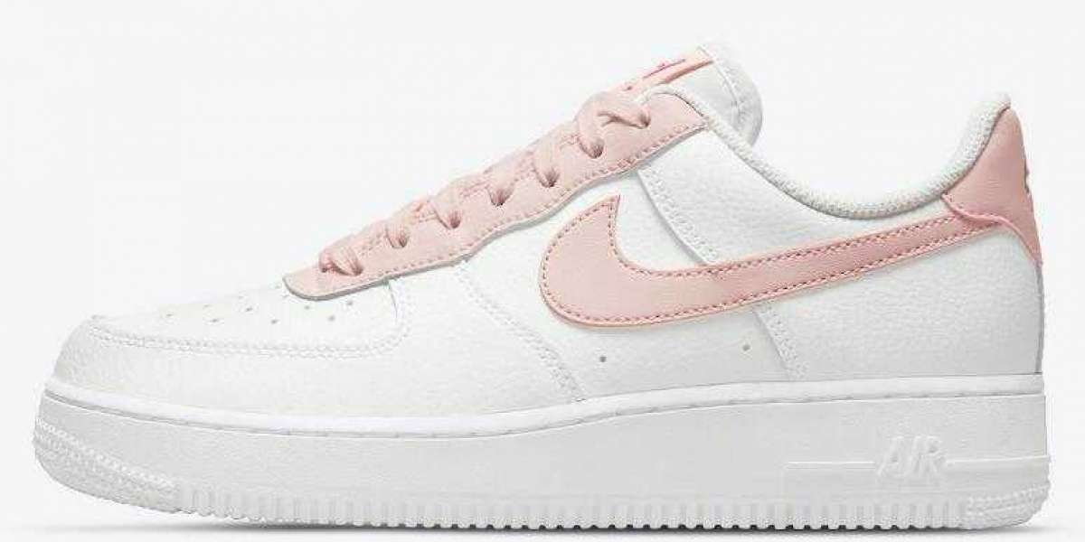 Best Walking Sneakers Nike Women's Air Force 1 Low Pale Coral for Sale