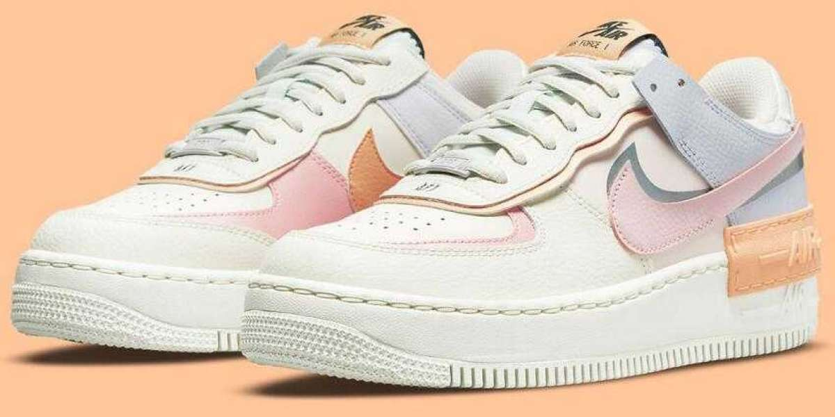 A New Nike Air Force 1 Shadow Covered by Pastels