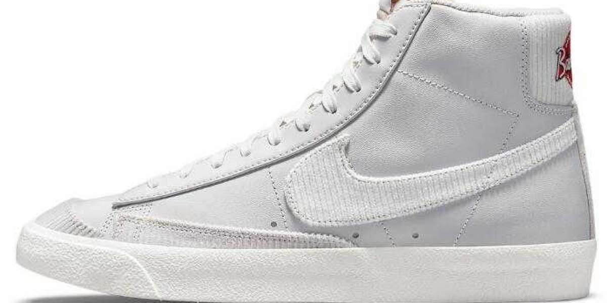 Nike Blazer Mid Sports Specialities Vast Grey to Release Soon