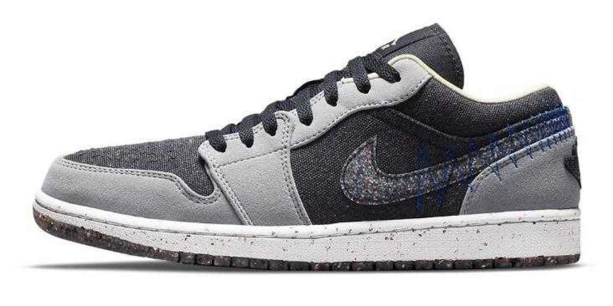 Lastly Air Jordan 1 Low Crater Debut With Earth-Friendly Materials